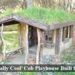'Naturally Cool' Cob Playhouse Built for $30