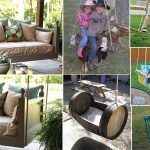 10 Unique DIY Patio and Garden Swings