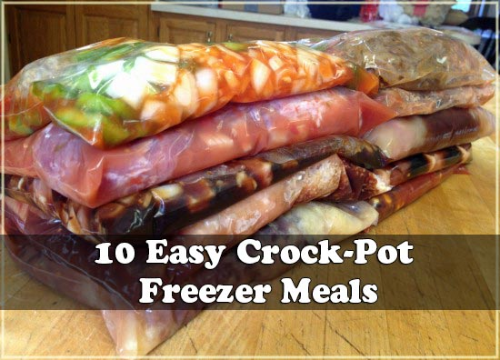 10 Easy Crock-Pot Freezer Meals