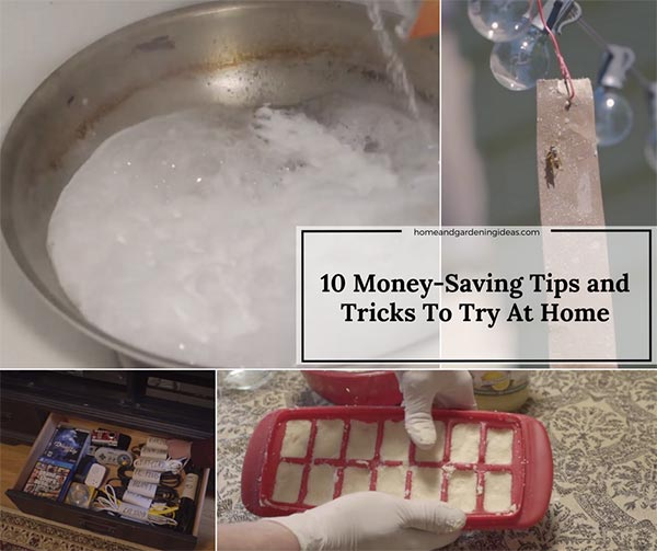 10 Money Saving LIFE HACKS To Try At Home