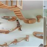10 Overhead Playgrounds in Your Home for Your Cats!