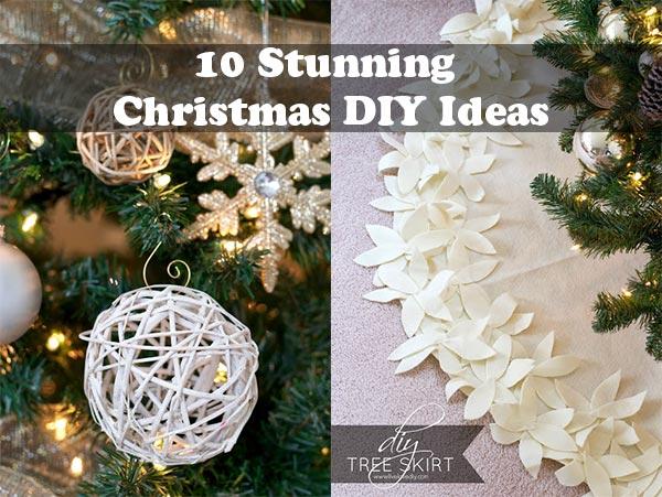 10 Stunning Christmas DIY Ideas