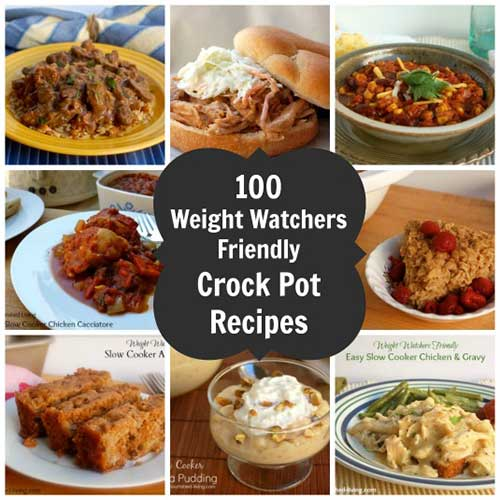 100 Weight Watchers Friendly Crock Pot Recipes