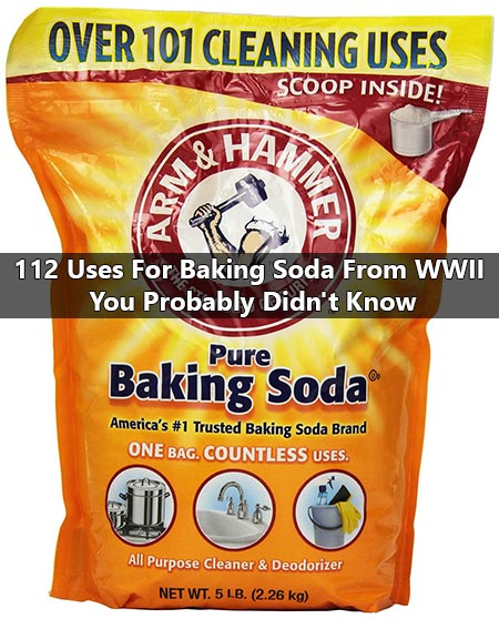 112 Uses For Baking Soda From WWII You Probably Didn't Know
