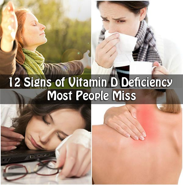 12 Signs of Vitamin D Deficiency Most People Miss