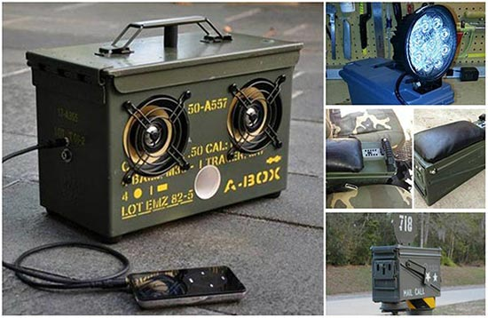 13 Creative ways To Reuse Ammo Cans