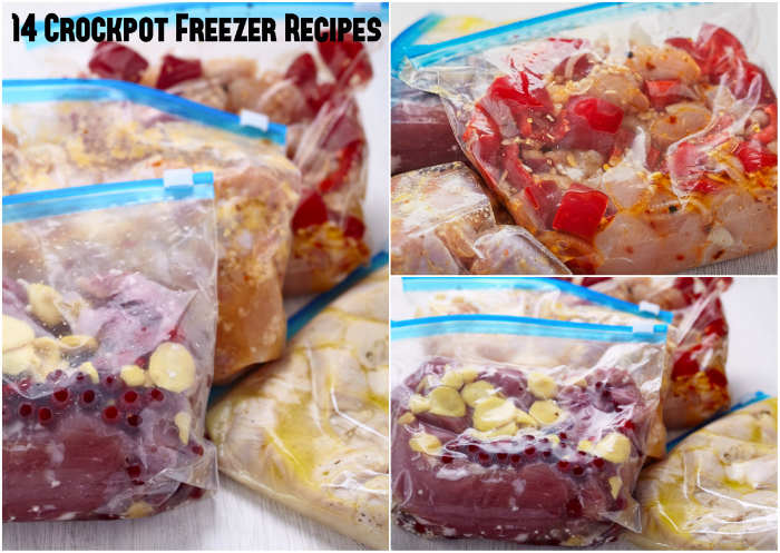 14 Crockpot Freezer Recipes