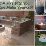 14 DIY Fire Pits You Can Make Yourself!