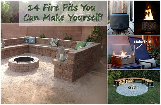 make it yourself furniture 14 diy fire pits you can make yourself