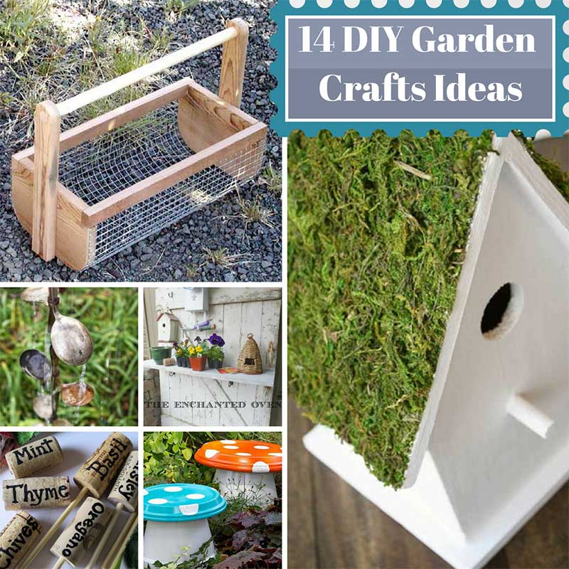 14 Garden Crafts Ideas for Spring