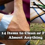 14 Items to Clean or Fix Almost Anything