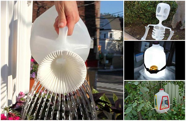 15 creative ways to reuse and upcycle milk jugs for What can you make out of water bottles