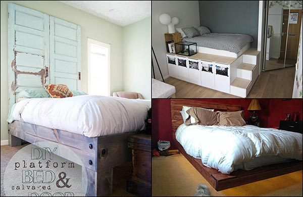 15 DIY Platform Bed Projects