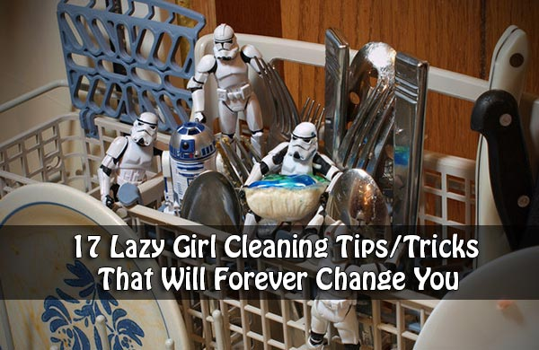 17 Lazy Girl Cleaning Tips/Tricks That Will Forever Change You