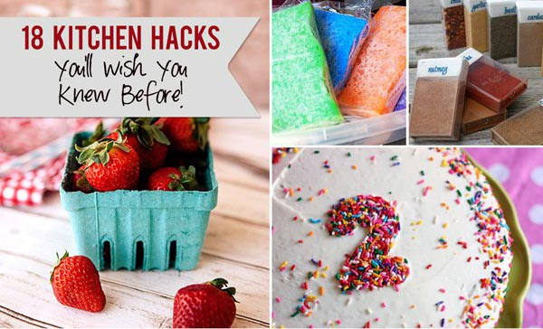 18 Kitchen Hacks You'll Wish You Knew Before