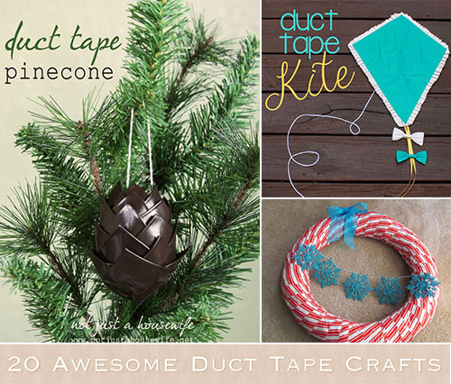 20 Awesome Duct Tape Crafts