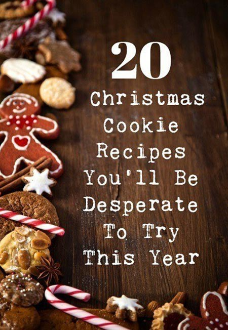 20 Christmas Cookie Recipes You'll Be Desperate To Try This Year