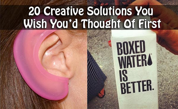 20 Creative Solutions You Wish You'd Thought Of First