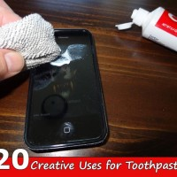 20 Creative Uses for Toothpaste