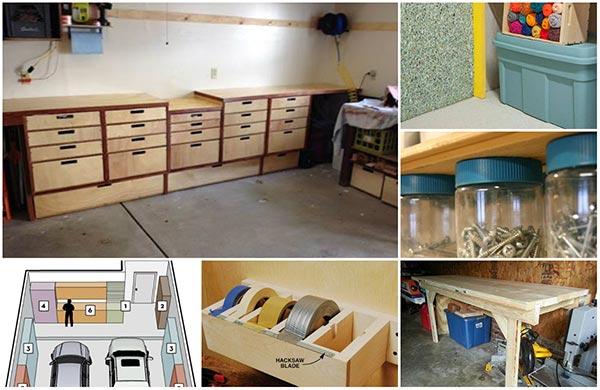 20 Diy Garage Storage And Organization Ideas