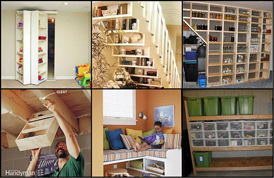 20 genius basement storage ideas for Basement storage ideas