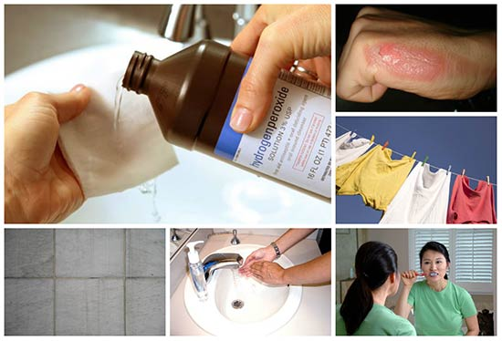 Over 20 Household Uses for Hydrogen Peroxide