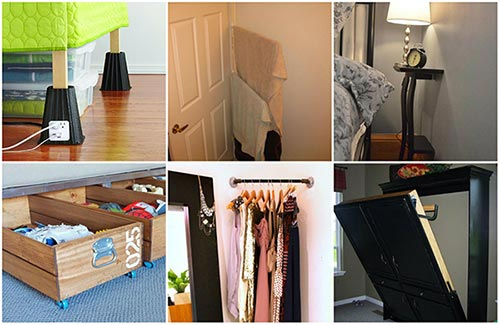 20 Tiny Bedroom Hacks That Make the Most of Your Space