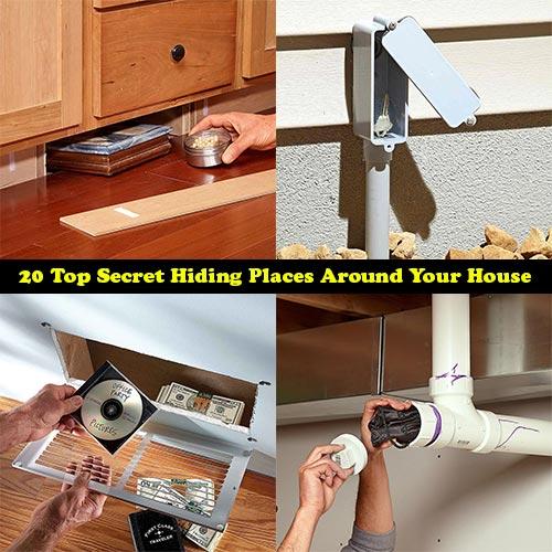 Best Hiding Spots Whiteout: Top Secret Hiding Places Around Your House