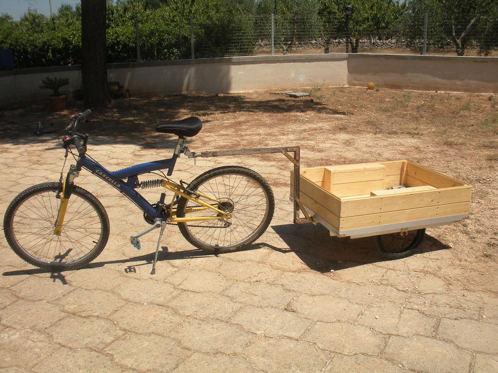 diy how to build a bike trailer. Black Bedroom Furniture Sets. Home Design Ideas