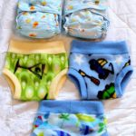 Homemade Rita's Rump Pocket pattern Diapers