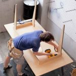 Build A Table From One Sheet of Plywood