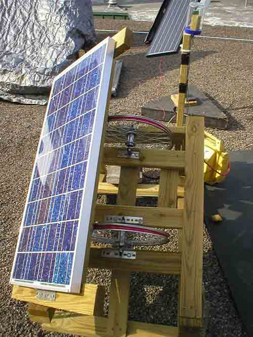 Home Made Solar Panel Tracker That Follows The Sun
