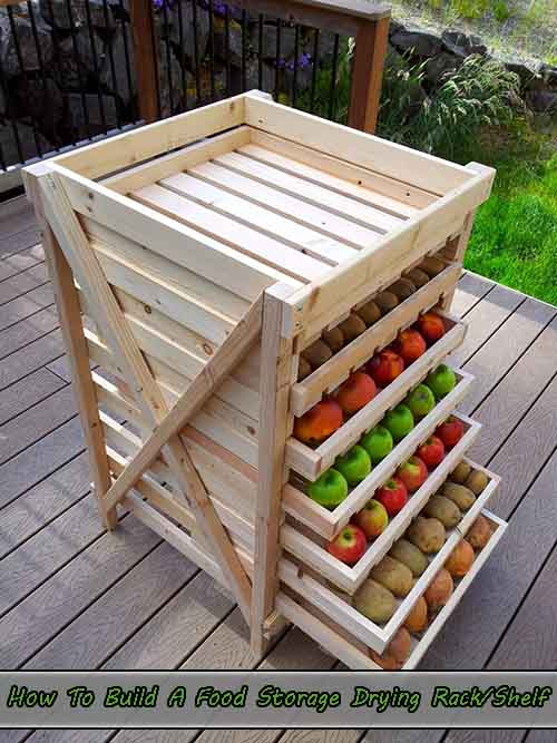 How To Build A Food Storage Drying Rack/Shelf