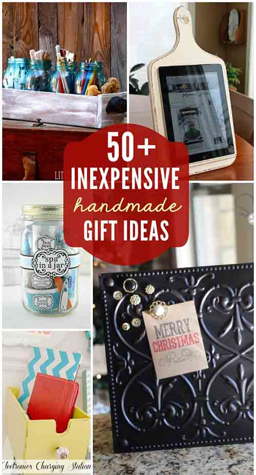 50 inexpensive diy gift ideas for any occasion for Cheap diy presents