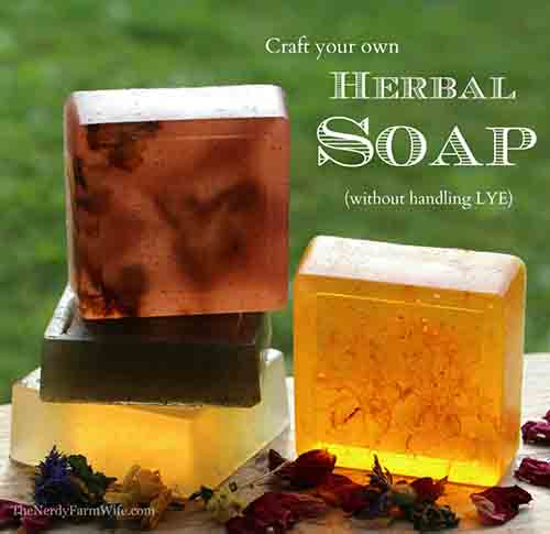 How To Make Herbal Soap Without Using Lye