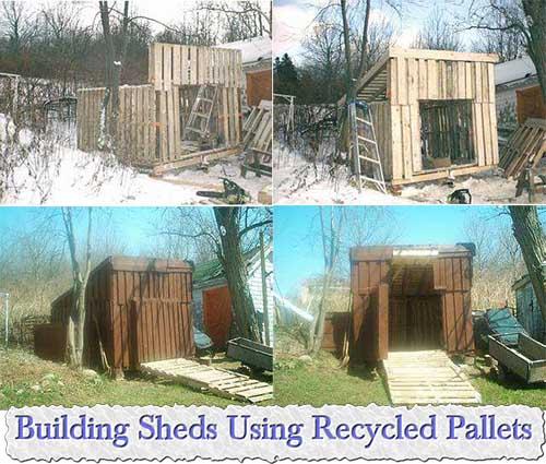 Building sheds from pallets wood storage sheds kits - Garden sheds edmonton ...