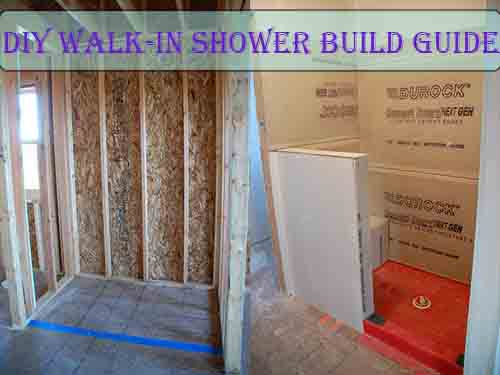 DIY Walk-In Shower Build Guide