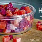How To Make Homemade Healthy Fruit Snacks