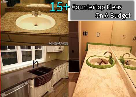 Best Countertop Material On A Budget : 10 + Countertop Ideas On A Budget