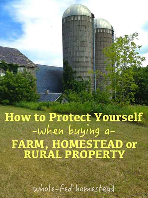 How To Protect Yourself When Buying a Homestead Propert