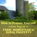 How To Protect Yourself When Buying a Homestead Property