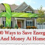 100 Ways to Save Energy And Money At Home