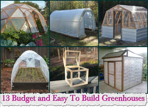 13 Budget and Easy To Build Greenhouses