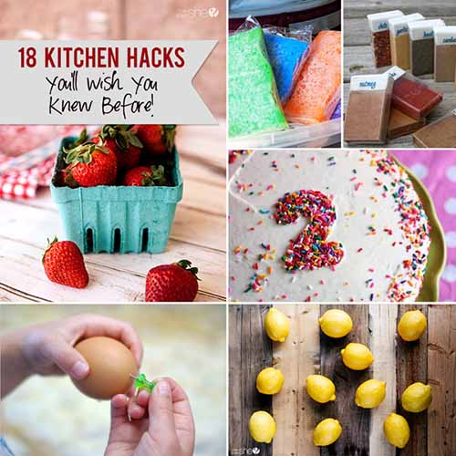 18 Kitchen Hacks You'll Wish You Knew Before!