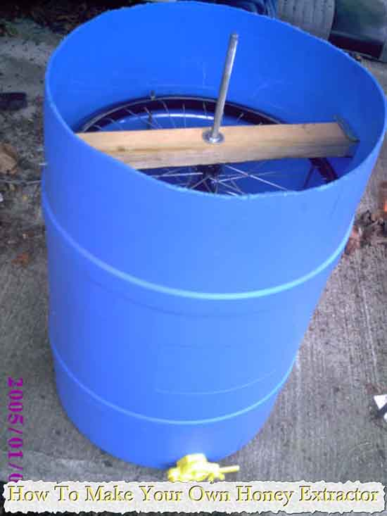 How To Make Your Own Honey Extractor