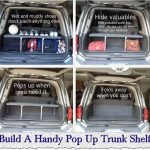 Build A Handy Pop Up Trunk Shelf