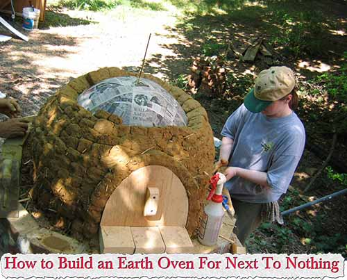 How to Build an Earth Oven For Next To Nothing