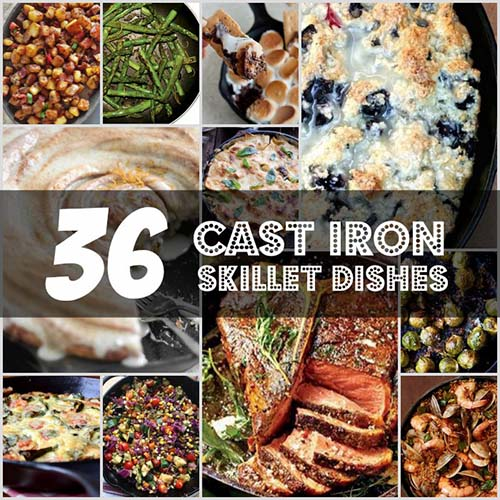36 Amzing Cast Iron Skillet Recipes