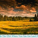 Places In The USA Where You Can Get Land For Free