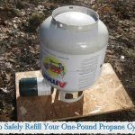 How to Safely Refill Your One-Pound Propane Cylinders